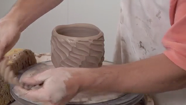 Pottery Video- A New Twist on a Faceted Bowl