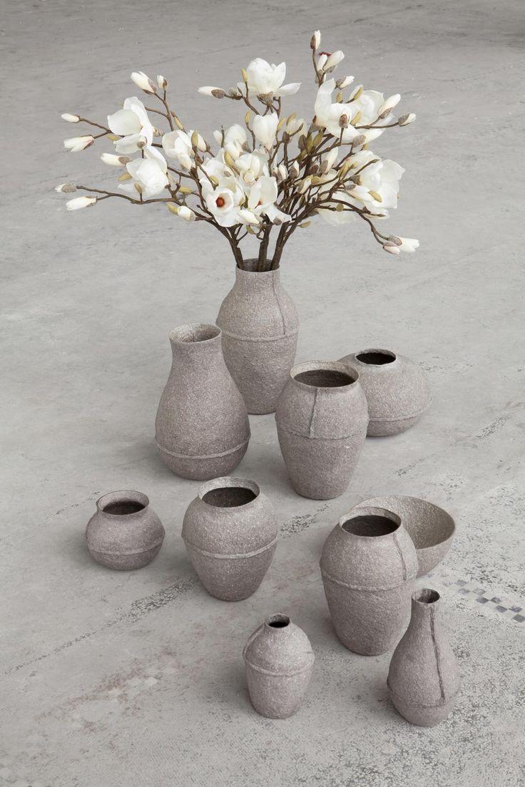 Paperpulp Vases_1