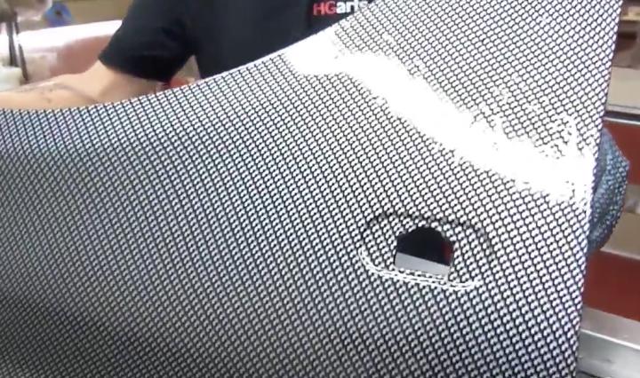 Water Transfer Printing - Hydrographics - Wassertransferdruck Process