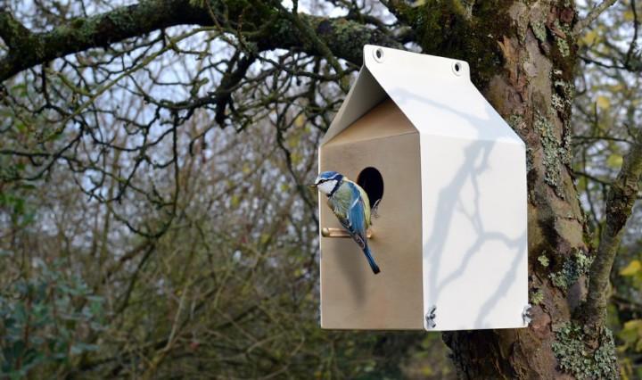 Milk Carton Inspired Birdhouse_2